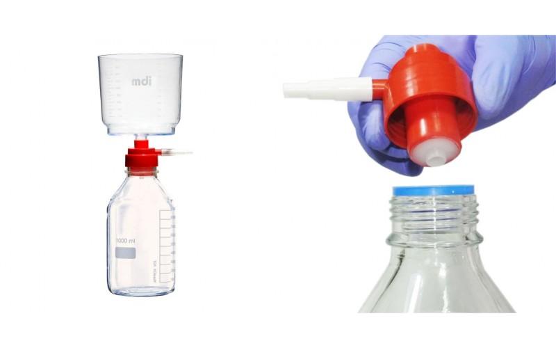 AseptiVac KS : Vacuum Filter Unit for Glass Bottles